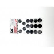 Podkładka filc fi22 czarna op=16szt
