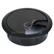 Przepust M kablowy plastik fi 60 czarny