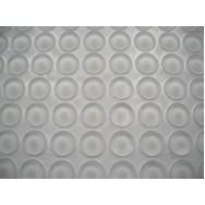 Amortyzator GTV silikonowy naklejany 10x3mm 1listek=100szt AMR-BP-1003