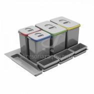 Segregator Multino 900 2x15l+2x7+3 brytfanki PB-91174100B5