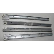 Prowadnica rol. GTV L-350 srebrna Innovo PR-SX-350-80